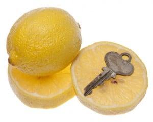 Citroen met sleutel