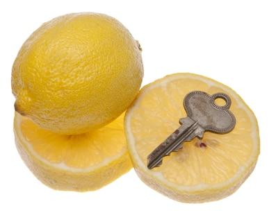 Het bestrijden van roest op sloten en sleutels